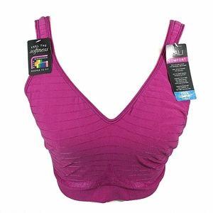 Bali Comfort Revolution Flex Fit Bra XL Pink